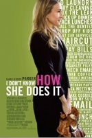 I dont know how she does it poster