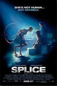 Splice Movie Poster 2010