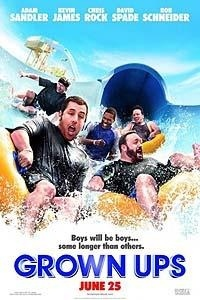Grown Ups Movie Poster 2010