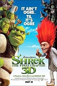 Shrek Forever After Movie Poster 2010
