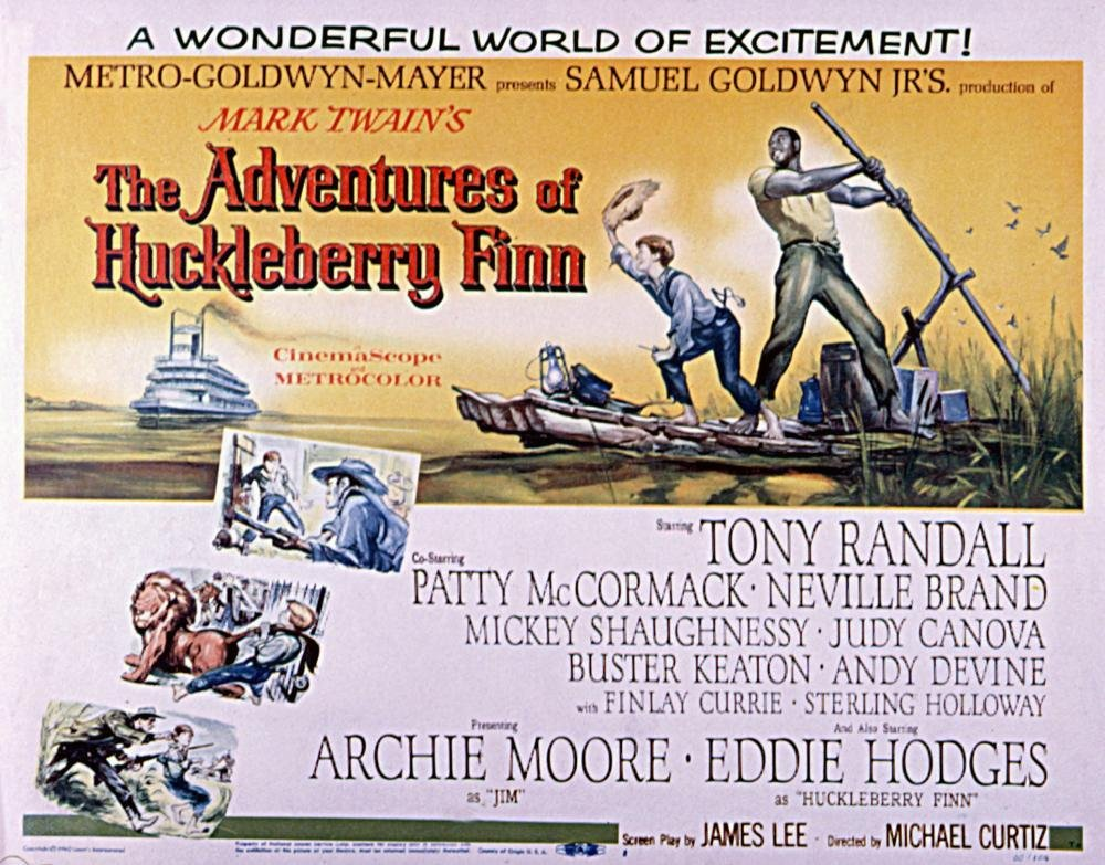 an analysis and a comparison of the adventures of huckleberry finn the novel and the movie The adventures of huckleberry finn, the movie, has been criticized for various reasons many believe that in making the movie humorous and enjoyable for audience, it dissolves mark twain's message about slavery and twists the plot line of the book.