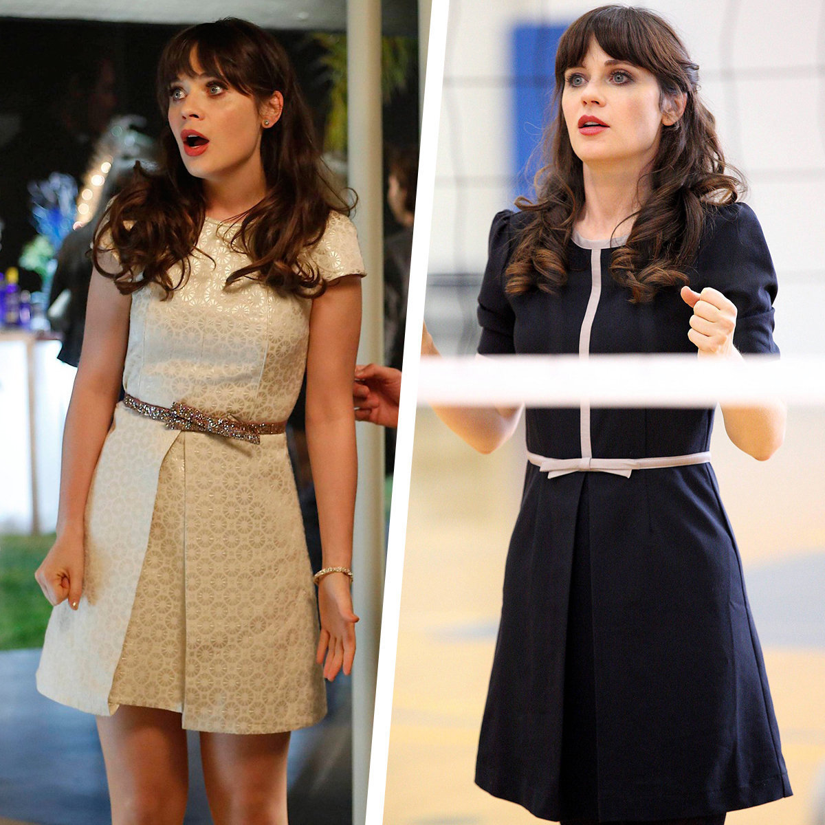 Zooey Deschanel, New Girl fashion