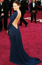 Hilary Swank Oscars dress