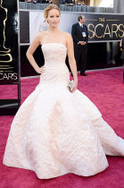 Jennifer Lawrence at Oscars