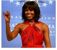 michelle obama style inauguration