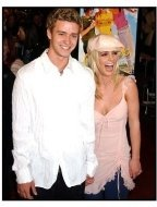 Justin Timberlake and Britney Spears at the Crossroads premiere
