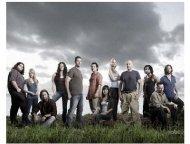 "Cast of  ABC's ""Lost"" Season Four"