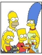 The Simpsons TV Still: The Simpsons Family