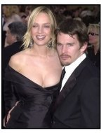 Uma Thurman and Ethan Hawke at the 2002 Academy Awards