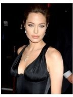 Angelina Jolie at the Alexander Premiere