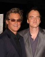 Kurt Russell and Quentin Tarantino