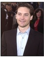 Tobey Maguire at the Spider-Man premiere