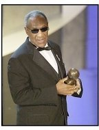 Bill Cosby is presented the Bob Hope Humanitarian Award at  at The 55th Annual Primetime Emmy Awards