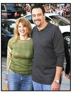 "Brad Garrett and wife Jill Diven at ""The Whole Ten Yards"" Premiere"