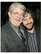 King Kong Premiere Photos: George Lucas and Peter Jackson