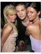 Paris Hilton, Chad Michael Murray and Nicky Hilton at the Paris Hilton Fragrance Launch Party