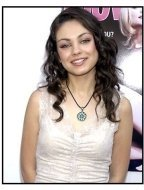 Mila Kunis at the 2002 Movieline Young Hollywood Awards