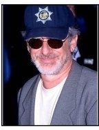 "Steven Spielberg at the ""What Lies Beneath"" Premiere"