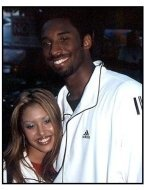 Kobe Bryant and wife at the 2000 Kobe Bowl