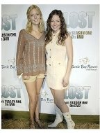 Lost Season 1 DVD Release Party Photos:  Maggie Grace and Evangeline Lily