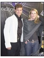 Casper Van Dien and Catherine Oxenberg at the Palms  Casino Royale to Benefit the Lakers Youth Foundation
