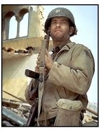 Saving Private Ryan movie still: Tom Hanks