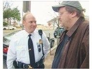 """Fahrenheit 9/11"" Movie still: Michael Moore"