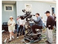 Writer/Director/Actor Zach Braff on the set of Fox Searchlight Pictures' 'Garden State'