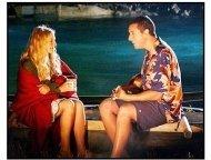 """""""50 First Dates"""" Movie Still: Drew Barrymore and Adam Sandler"""