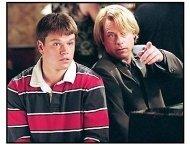"""""""Stuck on You"""" Movie Still: Matt Damon and Greg Kinnear"""