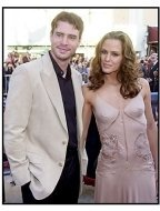 "Jennifer Garner and Scott Foley at the ""Daredevil"" premiere"