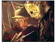 """Freddy vs. Jason"" Movie Still: Robert Englund and Ken Kirzinger"