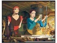 """Sinbad: Legend of The Seven Seas"" Movie Still: Brad Pitt and Catherine Zeta-Jones"