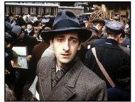 The Pianist movie still: Adrien Brody as Wladyslaw Szpilman in The Pianist