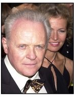 Anthony Hopkins at the 2001 Academy Awards