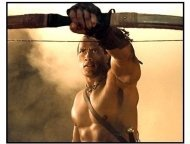 The Scorpion King: The Rock as Mathayus