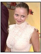 Christina Ricci at the 2001 MTV Movie Awards