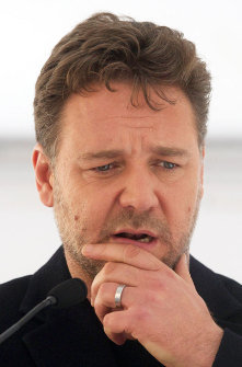 Russell Crowe saw a UFO