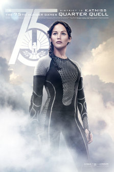 Hunger Games: Catching Fire Poster Katniss