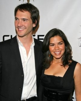 Michael Medico and America Ferrera