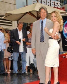 David E. Kelley and Michelle Pfeiffer
