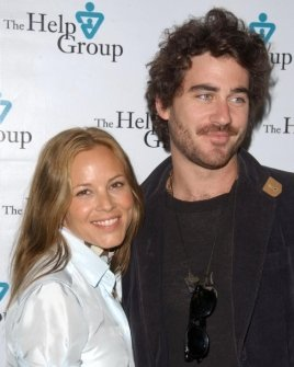 Maria Bello and guest