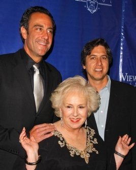 Brad Garrett with Doris Roberts and Ray Romano