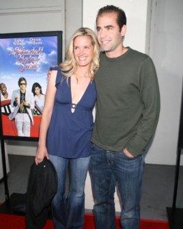 Bridgette Wilson and Pete Sampras