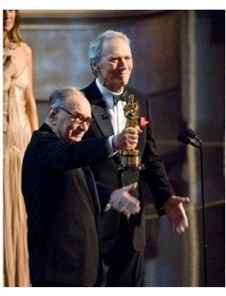 79th Annual Academy Awards Show Photos: Ennio Morricone and Clint Eastwood