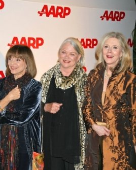 Valerie Harper with Louise Fletcher and Blythe Danner