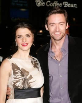 Rachel Weisz and Hugh Jackman