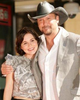 Alison Lohman and Tim McGraw