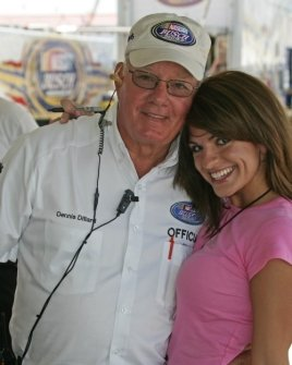 Bridgetta Tomarchio and Nascar Officals