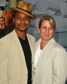 Cuba Gooding Jr and wife Sara